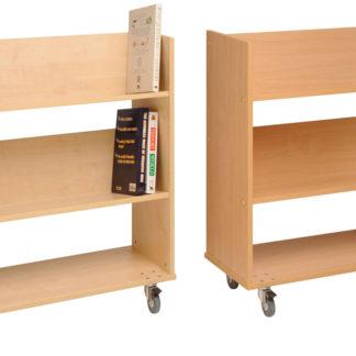 3050-Single-sided-Book-Trolley