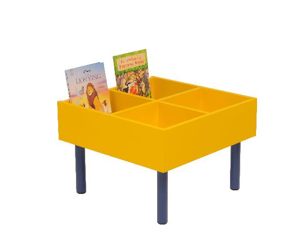 Kinderbox Round Legs - Classroom Book Storage